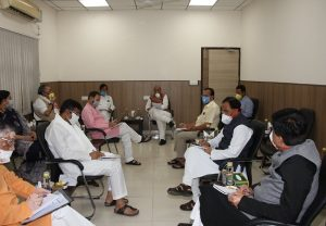 GoM meeting over COVID-19 situation held at Rajnath's residence
