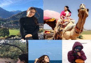 Sara Ali Khan shows off her love for nature by sharing exotic pics