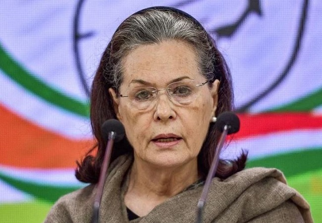 Sonia Gandhi lauds coronavirus warriors, urges people to follow lockdown rules