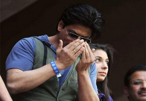 #AskSRK: Hope so, I want to start drinking coffee in that only, says SRK on KKR winning the 'Cup'