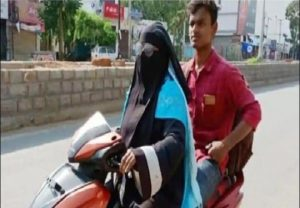 Telangana woman rides 1400 km to bring back stranded son
