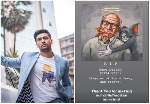 'Thank you for making our childhood amazing': Vicky Kaushal remembers Gene Deitch