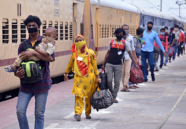 Railways ran 62 special trains for migrant workers, ferried 70,000 travellers: MHA