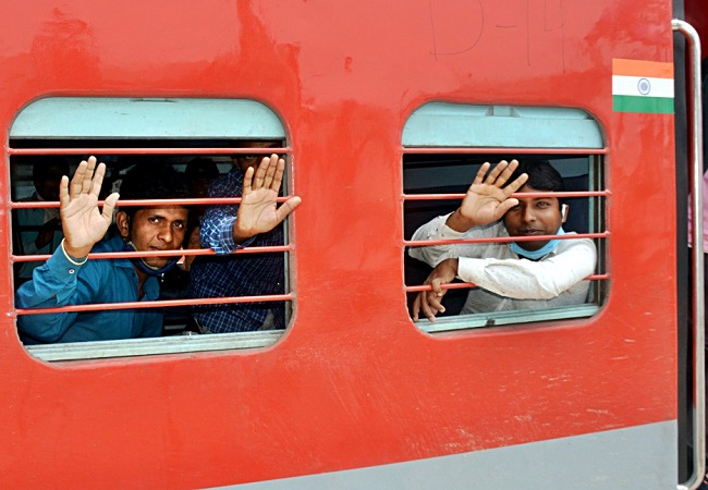 44 lakh passengers travel in 3274 Shramik special trains till May 25: Indian Railways