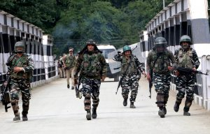 J-K: Encounter underway between security forces and terrorists in Pulwama