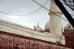 Taj Mahal's marble railing partially damaged, trees uprooted in thunderstorm