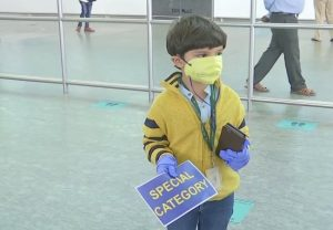 5-year-old boy reunites with parents in Bengaluru after domestic flights resume