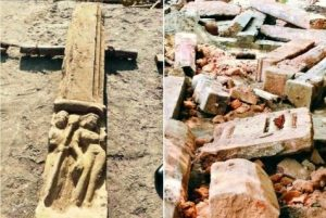 Temple remains, idol residues found at Ayodhya Ram temple…see pics