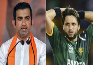 Shahid Afridi spews venom against PM Modi, Indian Army; Gambhir blasts him for anti-lndia rant