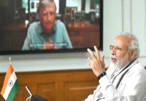 PM Modi interacts with Bill Gates via video conferencing, discusses global response to COVID-19