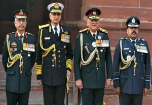 CDS Gen Bipin Rawat, three service chiefs to hold press conference at 6 pm