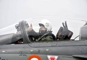 IAF chief RKS Bhadauria flies LCA Tejas, operationalises No. 18 Squadron 'Flying Bullets'