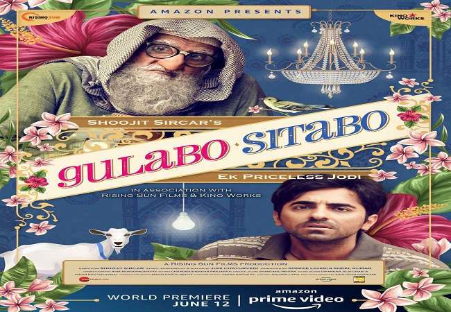 Big B, Ayushmann Khurrana's 'Gulabo Sitabo' to release on Amazon Prime