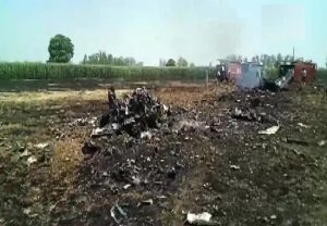 IAF MiG-29 fighter aircraft crashes in Punjab, pilot ejects safely