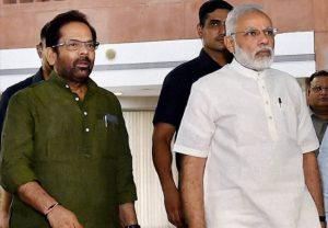Modi govt very honest, emerged victorious against all odds: Mukhtar Abbas Naqvi