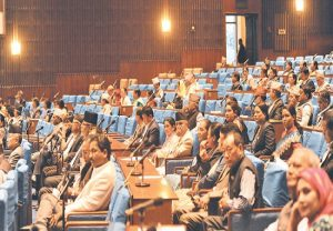 Proposal to incorporate new political map of Nepal tabled in Parliament