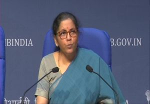 Press Conference by Finance Minister Nirmala Sitharaman