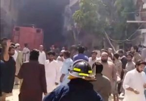 92 die in PIA plane crash in Karachi