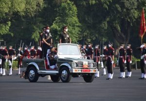 Parade at Indian Military Academy in COVID times (PICs)