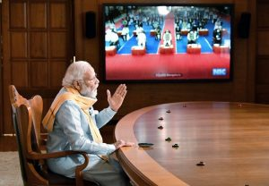 """""""Intent, inclusion, investment, infrastructure and innovation"""" needed to build a self-reliant India: PM Modi"""