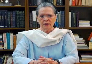 Freedom of expression under threat, democracy being destroyed, says Sonia Gandhi
