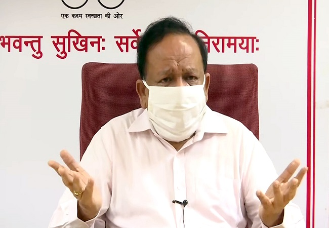 India's COVID-19 recovery rate over 58%, around 3 lakh people recovered till now: Dr Harsh Vardhan