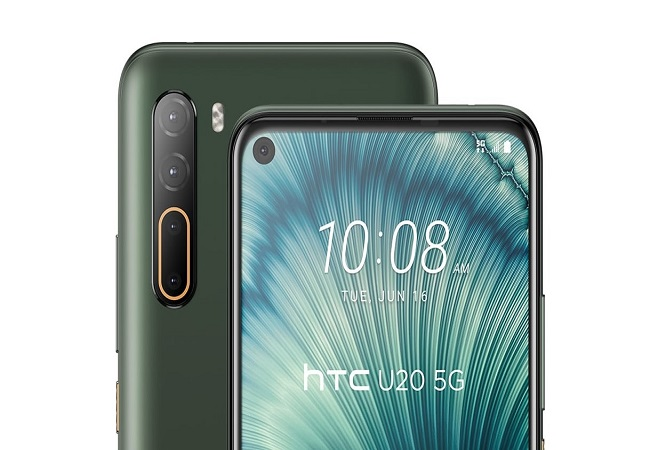 HTC steps into world of 5G with launch of HTC U20 5G