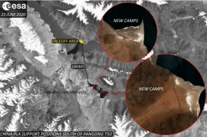 Proof of China's treachery: Satellite images show PLA troop build-up at Pangong Lake