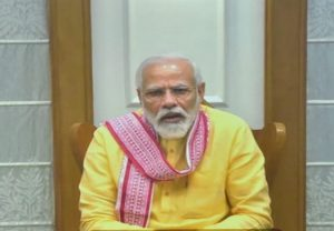 PM Modi meets senior ministers & officials, takes stock of India's fight against Covid-19