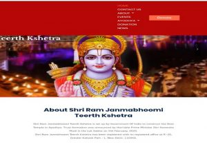 Ayodhya Ram Temple Trust to launch Official Website; Devotees can check construction updates here