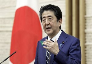 Abe says Japan will lead G7 statement on Hong Kong