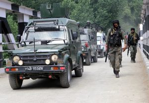 Encounter underway between security forces and terrorists in J-K's Awantipora