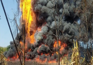2 die in fire at gas well in Assam's Tinsukia