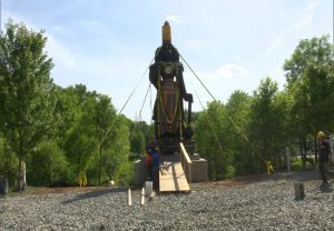 25 feet tall statue of Lord Hanuman installed in Hockessin, Delaware