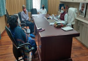 Union HRD Minister holds review meeting with CBSE, NTA over current education scenario