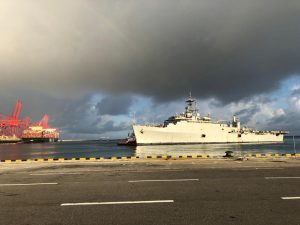 Operation Samudra Setu: INS Jalashwa arrived in Colombo, Sri Lanka | See Pics