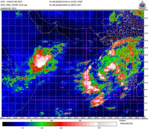 Cyclone Nisarga likely to make landfall near Mumbai on June 3: IMD