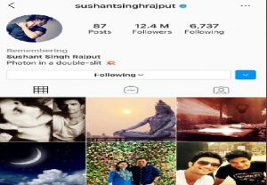 "Instagram adds ""Remembering"" to late Sushant Singh Rajput's profile"