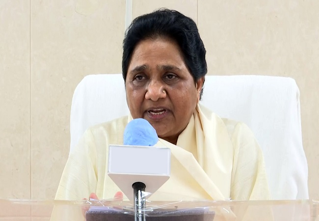 UP CM should learn how to improve law and order from BSP: Mayawati