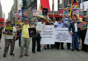 Boycott China: Indian Americans take to Times Square to protest Chinese aggression
