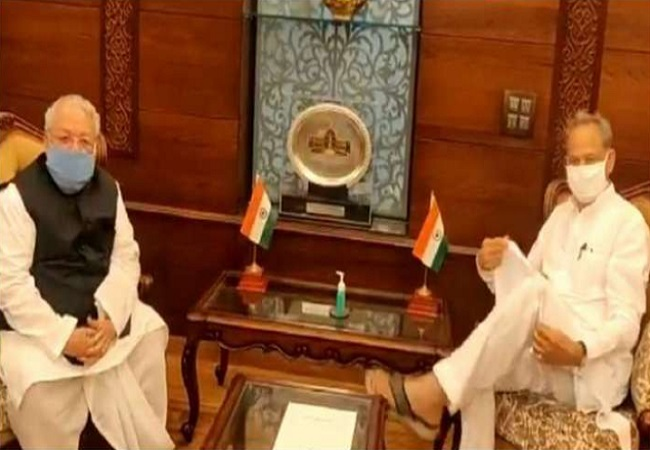 Gehlot meets Governor