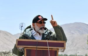 Tales of bravery displayed by 14 Corps will echo everywhere: PM Modi in Ladakh