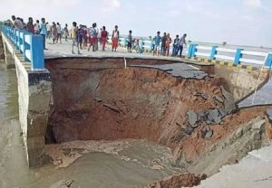 Apathy or Corruption?: Part of newly built Bihar bridge collapses into river, 1 month after inauguration