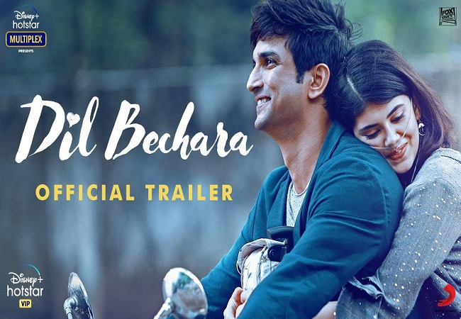 DIL BECHARA Trailer Sets New Record Worldwide, Becomes Most Liked Trailer