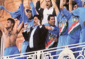 On this day in 2002: Ganguly celebrated taking his shirt off at Lord's after historic triumph in Natwest final