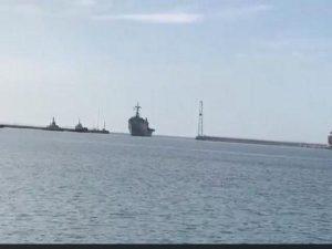 INS Jalashwa brings back 687 stranded Indians from Iran