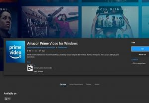 Amazon Prime Video's dedicated app now available for Windows 10 users
