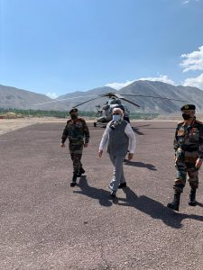 PM Modi makes surprise visit to Ladakh | See Pics