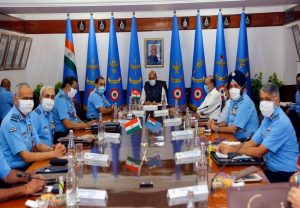 Rajnath Singh addresses inaugural session of Air Force Commander's Conference