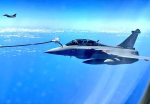 Rafale fighter jets refuelled mid-air on way to India, to reach Ambala around 2 PM